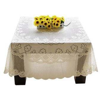 Amart สวยผ้าปูโต๊ะลูกไม้เครื่องประดับโต๊ะ 120*120 เซนติเมตร