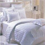ซื้อ Anadir ชุดผ้าปูที่นอน Cotton 250 เส้น ลายริ้ว สีขาว ขนาด 6 ฟุต 7 ชิ้น ถูก