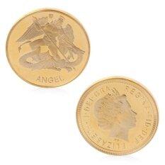 ขาย Angel Elizabeth Ii Gold Plated Commemorative Challenge Coin Souvenir Collectible Intl ฮ่องกง