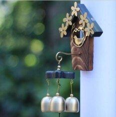 ราคา Antique Style Love Nest Shopkeepers Triple Bell Home Door Decoration Wind Chimes Intl เป็นต้นฉบับ Unbranded Generic