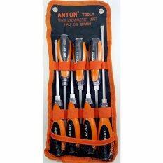 ราคา Anton ชุดไขควงตอก เซ็ท 7 ชิ้น Anton เป็นต้นฉบับ