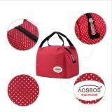 ราคา Areeya Shop กระเป๋าเก็บความร้อน เก็บความเย็น กระเป๋าใส่อาหาร สีแดง Bags Sports 102 Red เป็นต้นฉบับ Areeya Shop