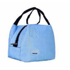 ซื้อ Areeya Shop กระเป๋าเก็บความร้อน เก็บความเย็น กระเป๋าใส่อาหาร สีฟ้า Bags Sports 103 Blue ใน กรุงเทพมหานคร