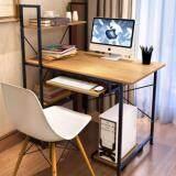 ทบทวน Asia โต๊ะวางคอมพิวเตอร์ ขนาด 1 20 เมตร รุ่น Bp217 Loft Style โครงดำ เมเปิ้ล Asia