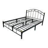 ซื้อ Asia เตียงเหล็ก6ฟุต Star ขา2นิ้ว สีดำ ใหม่