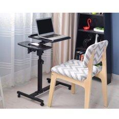 ราคา Asia โต๊ะวางโน๊ตบุ๊ค ขนาด 60 ซม รุ่นปรับระดับได้ Black Flower ใหม่ล่าสุด