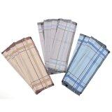 ทบทวน Audew 12 Pack Check Patter Mens Handkerchiefs 100 Cotton Square Super Soft Washable Intl