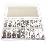 ขาย Audew 900Pcs Scr*w Assortment For Watch Eye Glasses Stainless Steel Watchmaker Tool New Intl