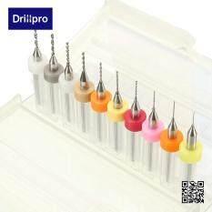 ทบทวน ที่สุด Autoleader 10Pcs Pro Pcb Print Circuit Board Carbide Micro Drill Bits Tool 3 1 2Mm Intl
