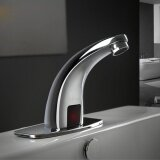 ราคา Automatic Touchless Electronic Faucet Commercial Free Hands Bathroom Vessel Sink Intl ใหม่
