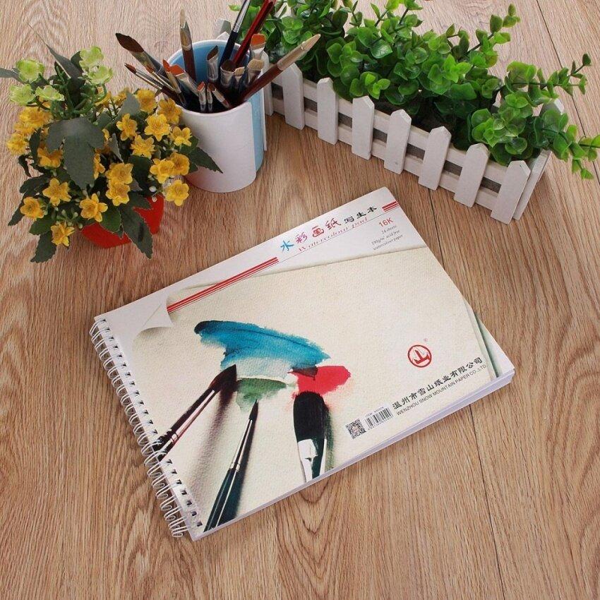 ซื้อดีที่สุด AW 8 พัน WATERCOLOR Book ARTIST Sketchbook/Sketch Pad Journal Fordrawing PAINT