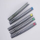 B0074 100Pcs Lot 1206 Smd Led Light Package Led Package Red White Green Blue Yellow 1206 Led In Stock Free Shipping Intl ใหม่ล่าสุด
