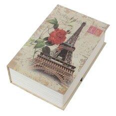 โปรโมชั่น Baffect 27 20 7 เซนติเมตรกุญแจตู้เซฟหนังสือพจนานุกรมกล่องเซฟและเครื่องประดับโลหะ Piggy Bank กล่องเก็บของ หลากสี นานาชาติ จีน