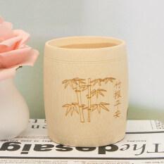 ราคา Bamboo Drinking Cup Tea Water Beer Camping Travel Mug Gift Vintage Coffee Cups Type 90X65Mm Length X Diameter Intl Unbranded Generic ใหม่