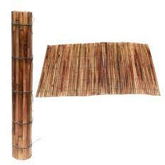 ซื้อ Bamboo Mat เสื่อไม้ไผ่ เสื่อมู่ลี่ไม้ไผ่ สำหรับวางของ สินค้า ตลาดนัด อีเวนต์ 1X2เมตร ถูก