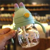 ซื้อ ฟางถ้วยพลาสติกน่ารักถ้วยคู่ฝาที่มีการจัดการ ถูก ฮ่องกง