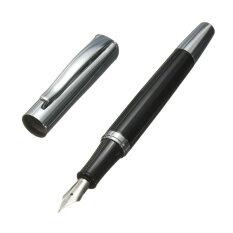 ขาย Baoer 051 Smooth Stainless Black Medium Nib Study Business Fountain Pen Gifts Baoer เป็นต้นฉบับ