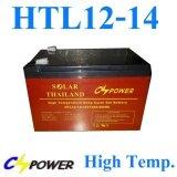 ส่วนลด Battery 12V 14Ah แบตเตอรี่เจล ทนร้อน อายุยืน Gel Long Life Deep Cycle รุ่น Htl12 14 Solar Thailand ใน กรุงเทพมหานคร