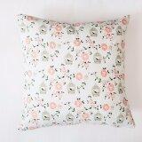 ส่วนลด Beautiful Rural Style Home Bedroom Creative Linen Pillow Cover Square Sofa Pillow Case Style Birdcage Intl จีน