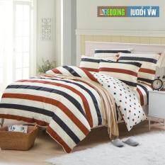 ราคา Bedding Cheap ผ้าปูที่นอน ชุดผ้านวม 6 ฟุต 6 ชิ้น รุ่น Al Zhuo203 ใหม่ ถูก