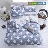 ซื้อ Bedding Cheap ผ้าปูที่นอน ชุดผ้านวม 6 ฟุต 6 ชิ้น รุ่น Al Zhuo402 ถูก กรุงเทพมหานคร