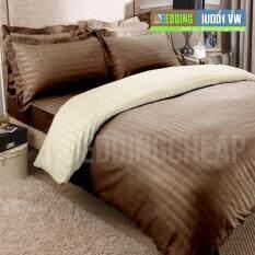 Bedding Cheap ชุดผ้าปู ผ้านวม 6 ชิ้น 6 ฟุต รุ่น Al1002 เป็นต้นฉบับ