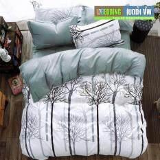 Bedding Cheap ชุดผ้าปู ผ้านวม 6 ชิ้น 6 ฟุต รุ่น Ark1009.