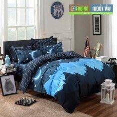Bedding Cheap ชุดผ้าปู ผ้านวม 6 ชิ้น 6 ฟุต รุ่น Ark1022
