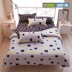 Bedding Cheap ชุดผ้าปู ผ้านวม 6 ชิ้น 6 ฟุต รุ่น Ark1026.