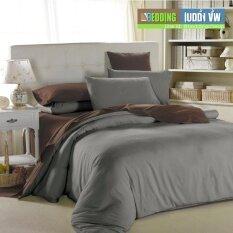 Bedding Cheap ชุดผ้าปู ผ้านวม 6 ชิ้น 6 ฟุต รุ่น Cl001.