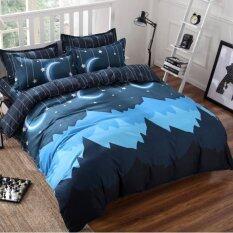 โปรโมชั่น Bedding Cheap ผ้าปูที่นอน ชุดผ้านวม เกรด A 6 ฟุต 6 ชิ้น Ayx 005