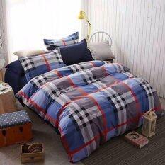 ราคา Pillow Land ผ้าปูที่นอน ชุดผ้านวม 6 ฟุต 6 ชิ้น Aa 302 ใหม่