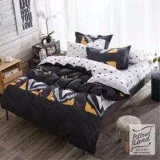 โปรโมชั่น Bedding Cheap ผ้าปูที่นอน ชุดผ้านวม เกรด A 6 ฟุต 6 ชิ้น Ny 409 ถูก