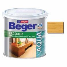 ขาย ซื้อ ออนไลน์ Beger แลคเกอร์สูตรน้ำสำหรับเฟอร์นิเจอร์ไม้ ชนิดโปร่งแสง Al 900 สีใสเงา