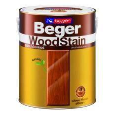 โปรโมชั่น Beger Woodstain สีย้อมไม้เบเยอร์g 1901 สีไม้สักทอง 1 กระป๋อง