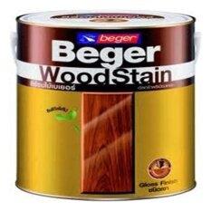 ราคา Beger Woodstain สีย้อมไม้เบเยอร์g 1910 สีไม้วอลนัท แกลอนใหญ่ Beger กรุงเทพมหานคร