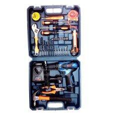 ราคา Belara สว่านไร้สาย12V Li Onพร้อม แบตเตอรี่2ก้อนชุดกระเป๋า พร้อมอุปกรณ์ ถูก
