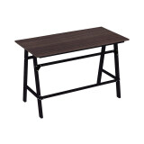 ราคา ราคาถูกที่สุด Besta โต๊ะทำงานขาเหล็ก รุ่นเลดี้ Wt 0010 ขาเหล็กดำ สีวอลนัท