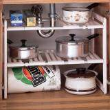 ราคา Best Deal ชั้นวางของอเนกประสงค์ปรับความยาวได้ สามารถใช้ใต้ซิ้งล้างจานได้ เป็นต้นฉบับ