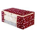 ขาย ซื้อ Better Homes กระเป๋าเก็บผ้าห่ม เครื่องนอน ลายดอกซากุระสีแดง เล็ก Thailand