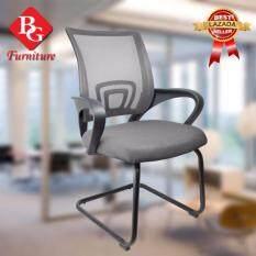 ส่วนลด Bg Furniture เก้าอี้สำนักงาน เก้าอี้นั่งทำงาน โฮมออฟฟิศ เก้าอี้ผู้บริหาร ระบายอากาศได้ดี Silver รุ่น B 1 กรุงเทพมหานคร