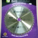 ราคา Bigwood ใบเลื่อยวงเดือนตัดไม้ 9 40ฟัน ใบเลื่อยตัดไม้คุณภาพสูง ราคาส่ง เป็นต้นฉบับ Unbranded Generic