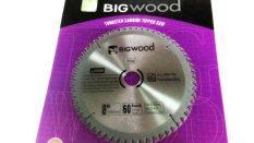 ทบทวน Bigwood ใบเลื่อยวงเดือนตัดไม้ 8 60ฟัน ใบเลื่อยตัดไม้คุณภาพสูง ราคาประหยัด