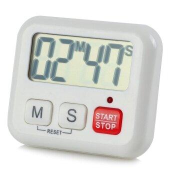 BK-029 2 \หน้าจอขนาดใหญ่ Digital TIMER-สีขาว (1 x AAA)