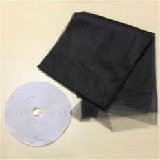 Black Diy Insect Fly Bug Mosquito Door Window Net Mesh Screen Curtain Protector ใน จีน