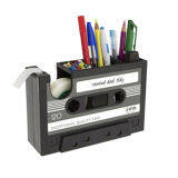 ขาย Blackhorse 1Pc Creative Desk Tape Multifunction Pencil Storage Box Home Clean Debris Case Black ราคาถูกที่สุด