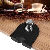 Black Multi Function Thicken Anti Skid Wear Resistance Coffee Tamper Holder Silicone Pad Mat Intl เป็นต้นฉบับ