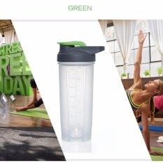Blender Bottle แก้วเชค Carry Me 700 Ml สีเขียว Tghome ถูก ใน ไทย
