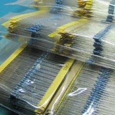 ราคา Blue 1280Pcs 64 Values 1 Ohm 10M Ohm 1 4W Metal Film Resistors Assortment Kits Low Noise Lemonstor Intl ออนไลน์ จีน