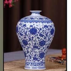 ขาย แจกันลายคราม ตกแต่ง บ้าน ห้องนั่งเล่น ทันสมัยจีนน้ำเงิน และขาว Blue Nad White ถูก กรุงเทพมหานคร